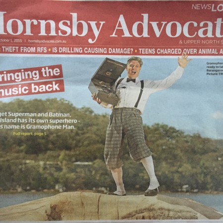 Hornsby Advocate Front Page